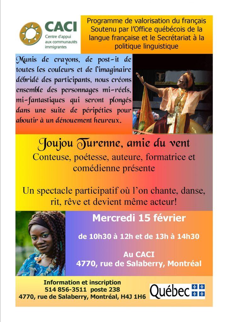 Joujou Turenne, au CACI @ CACI | Montréal | Québec | Canada