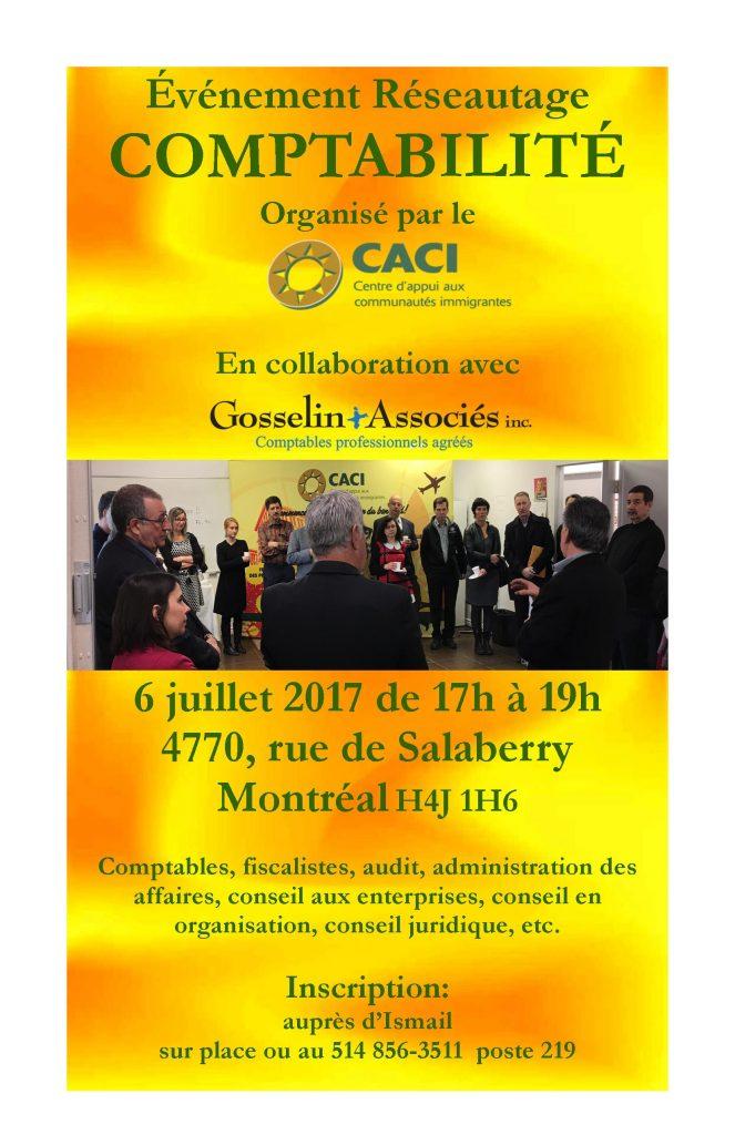 Événement Réseautage Comptabilité @ CACI | Montréal | Québec | Canada