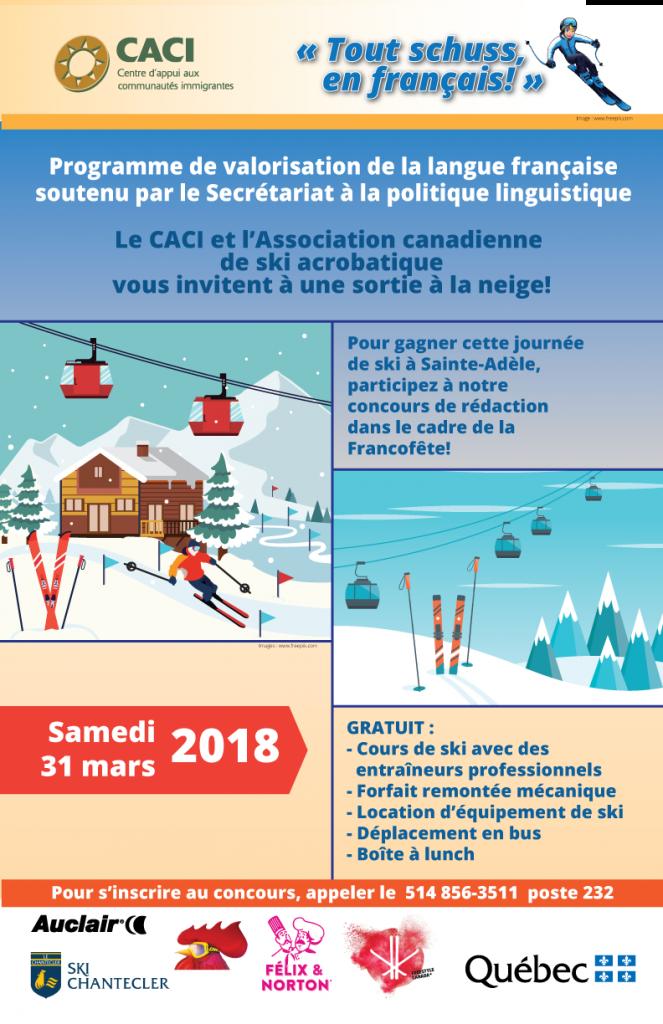 Sortie à la neige @ CACI | Montréal | Québec | Canada