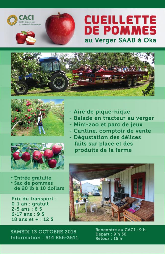 Cueillette de pommes @ CACI | Montréal | Québec | Canada