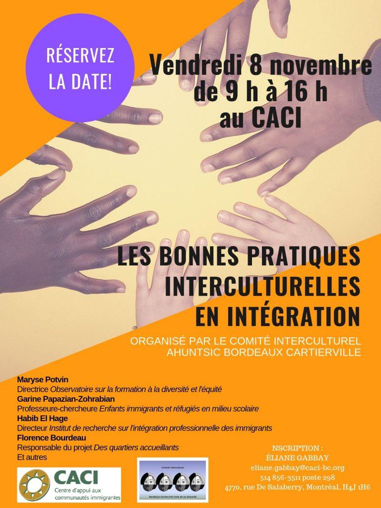 Les bonnes pratiques interculturelles en intégration @ CACI