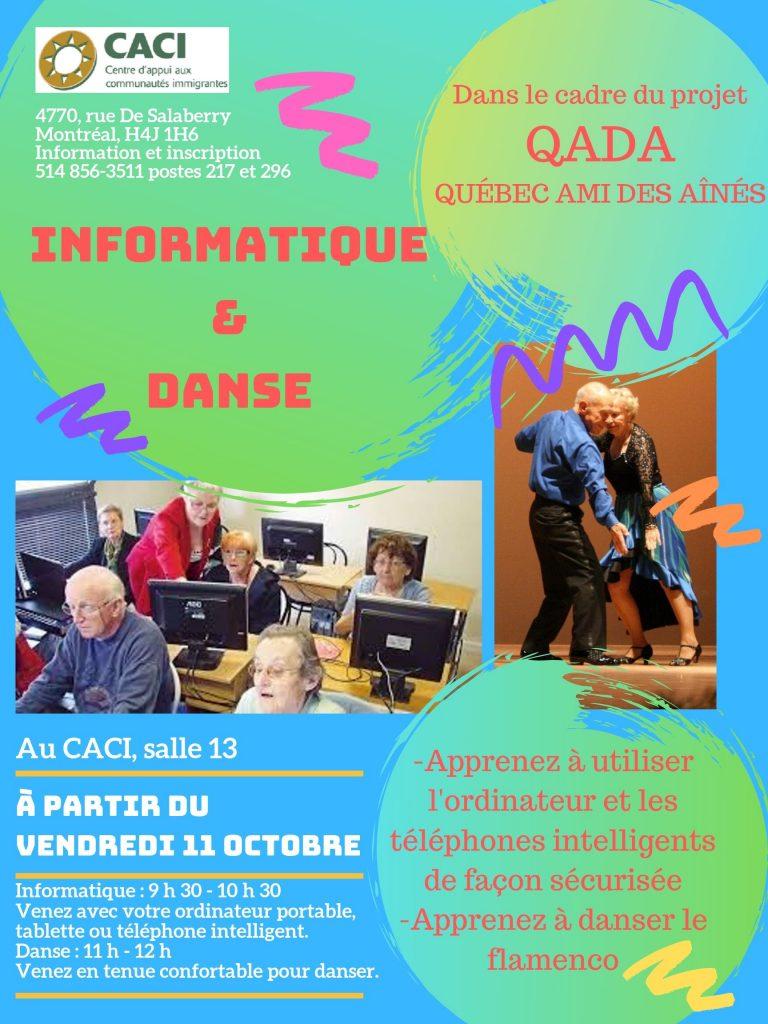 Informatique et flamenco pour les aînés @ CACI