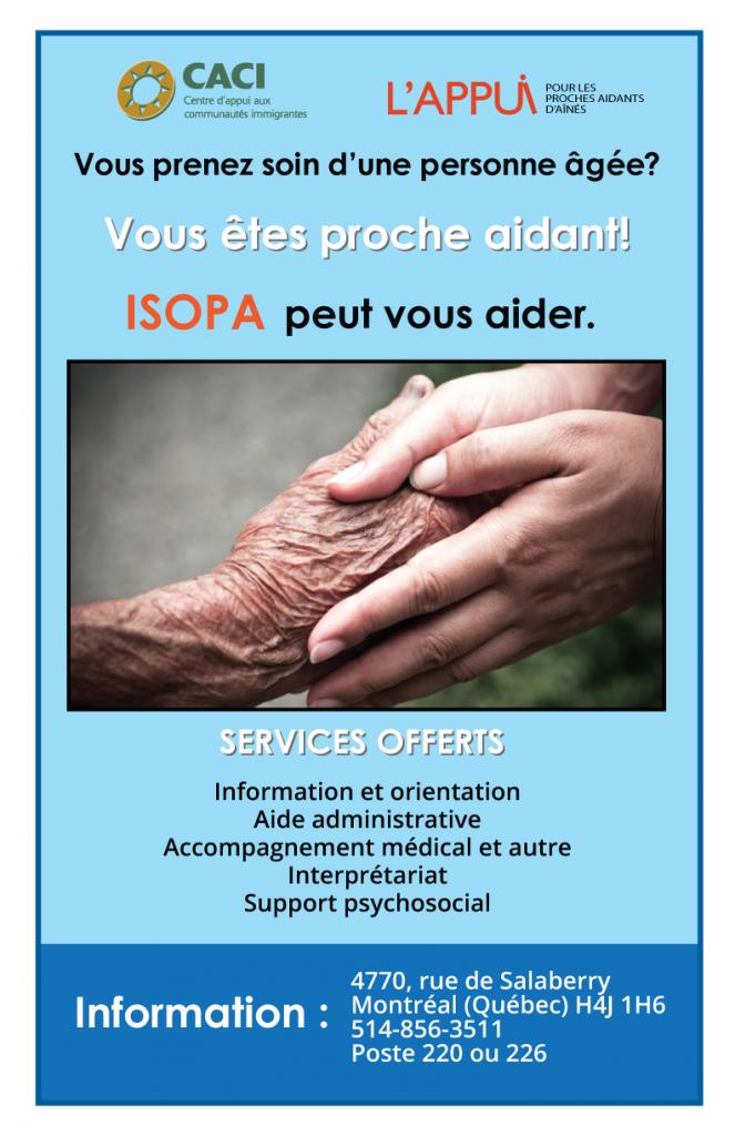 Balade au Mont-Royal pour les proches aidants d'aînés @ CACI