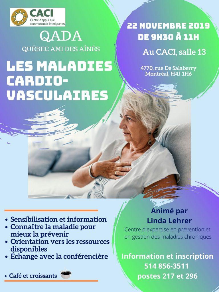 Les maladies cardiovasculaires expliquées @ CACI